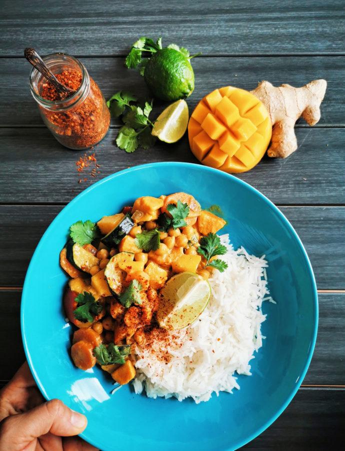 Exótico Curry de Mango