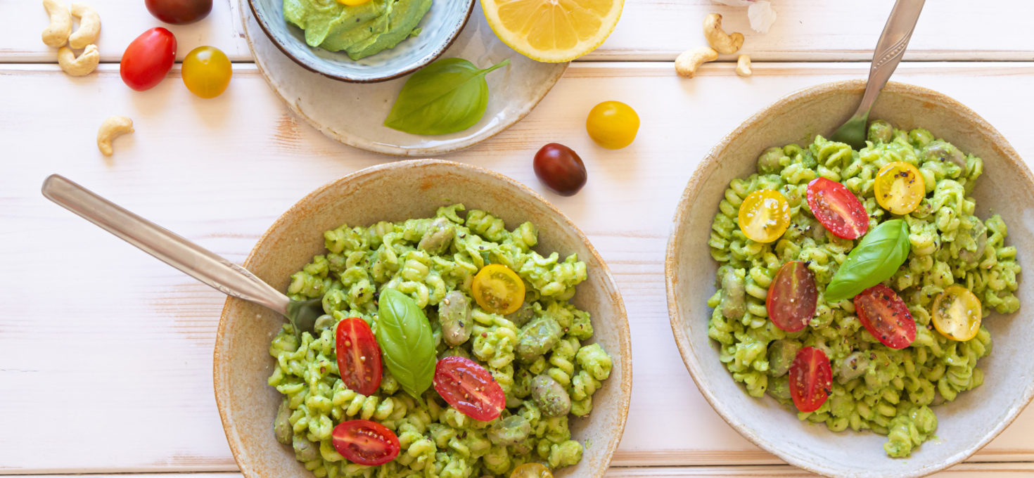 Power Greens Pesto con Aguacate